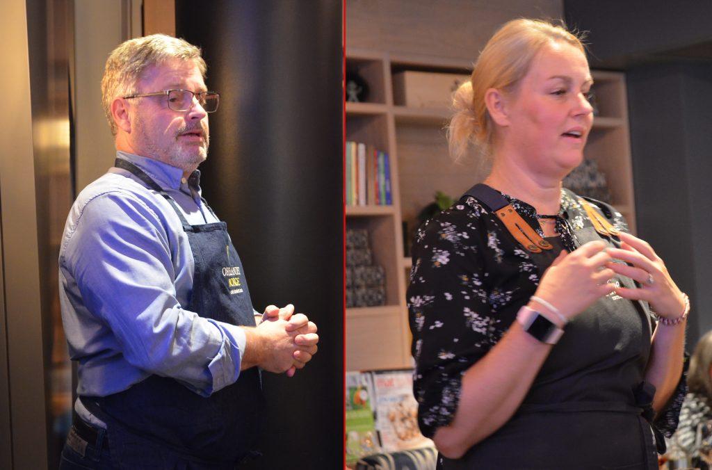 Bernt Bucher Johannessen og Siri Winther